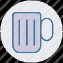 alcohol, ale, beer, beverage, cup, mug icon