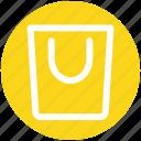 .svg, bag, buying, commerce, shop, shopping, shopping bag icon