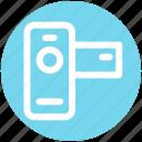 .svg, cam, camera, handy cam, photo, photography icon