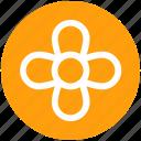 .svg, creative flower, flower, flower design, nature icon