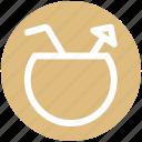 .svg, bowl, coconut, coconut juice, drink, food, juice icon
