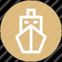 .svg, boat, cruise, sailing, ship, shipyard, travel icon