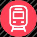.svg, rail, railroad, railway, subway, train, transportation icon