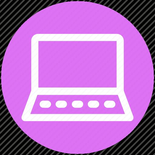 .svg, computer, device, laptop, laptop pc, open laptop, ppc icon