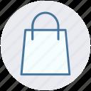 bag, buying, commerce, shop, shopping, shopping bag icon