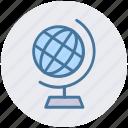 earth, globe, streamline, world, world globe icon