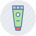 sun tube, sunblock, toothpaste, tube icon