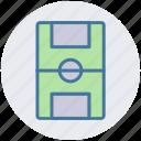 field, football, football ground, ground, sport, sports ground icon