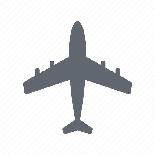 airliner, tourism, travel icon