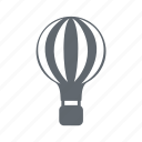 balloon, flight, sky, travel icon