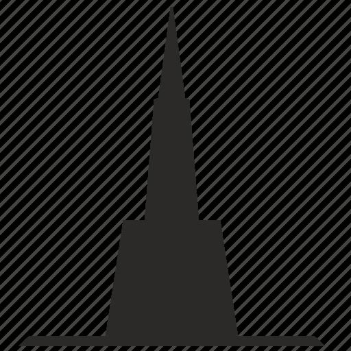 arrow, building, head, top, tower icon
