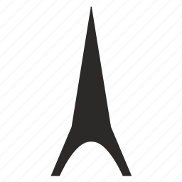 high, modern, tower icon