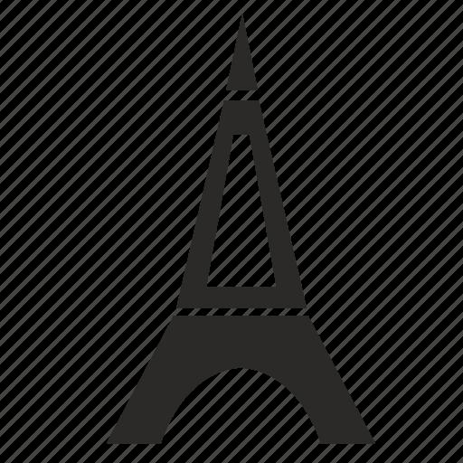 paris, tower icon