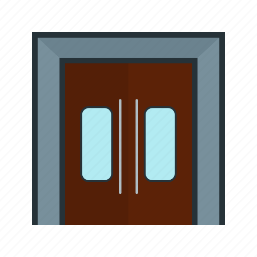centre, city, community, entrance, gate, security, town icon