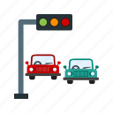 town, transportation, light, signal, stop, traffic, road