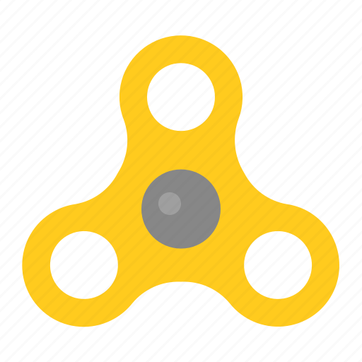 Toy, fidget spinner, spinner, game, baby, bauble, plaything icon
