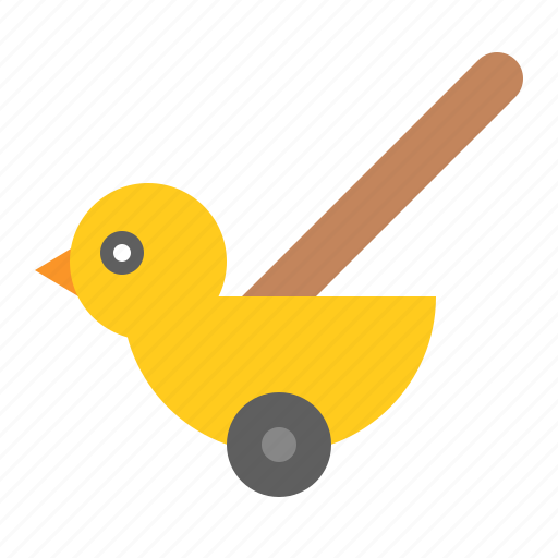 baby, bauble, duck, game, plaything, toy icon