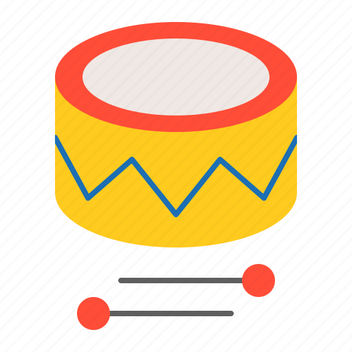 baby, bauble, drum, game, plaything, toy icon