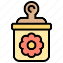 bottle, candy, child, flower, toy icon