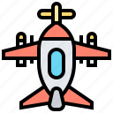 airplane, baby, children, plane, toy icon
