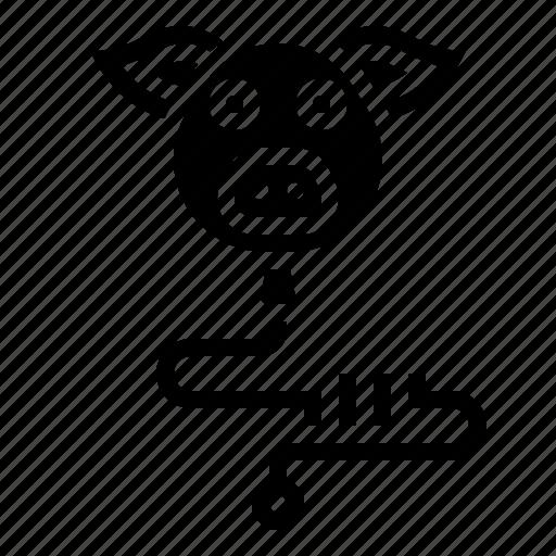 Baby, balloon, children, pig, toy icon - Download on Iconfinder