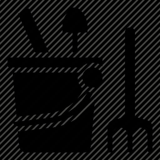 Baby, bucket, children, sand, toy icon - Download on Iconfinder