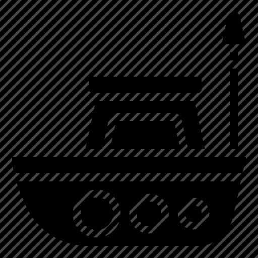 boat, controller, radio, ship, vessel icon