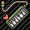 instrument, keyboard, melodian, music, sound