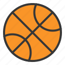 baby, ball, basket ball, bauble, game, plaything, toy icon