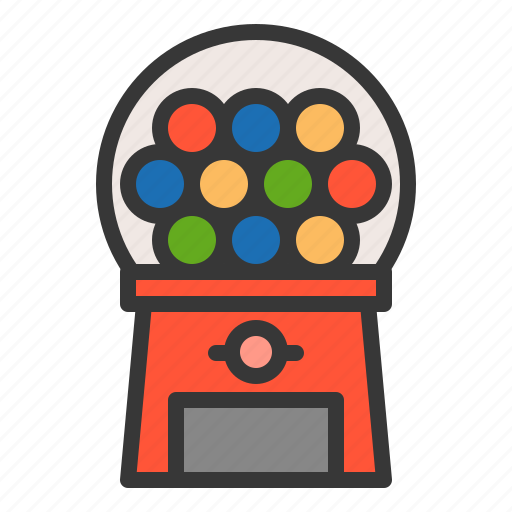 baby, bauble, game, gumball machine, plaything, toy icon