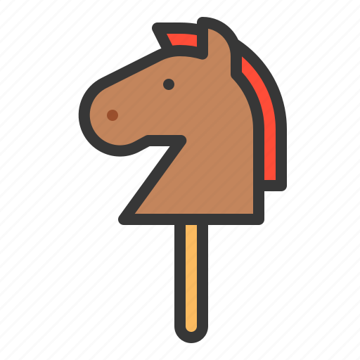 baby, bauble, game, hobby horse, plaything, toy icon