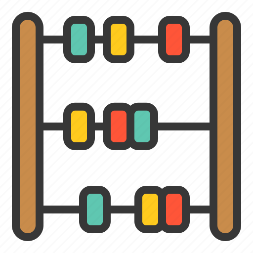 abacus, baby, baby toy, bauble, game, plaything, toy icon