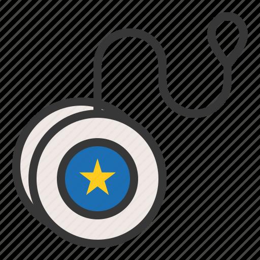 bauble, game, plaything, toy, yo-yo, yoyo icon