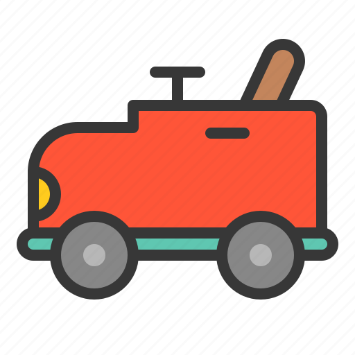 baby, bauble, car, game, plaything, toy, toy car icon