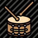 drum, drumsticks, instrument, music, musical, orchestra, percussion