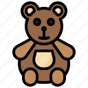 animal, animals, bear, childhood, fluffy, puppet, teddy