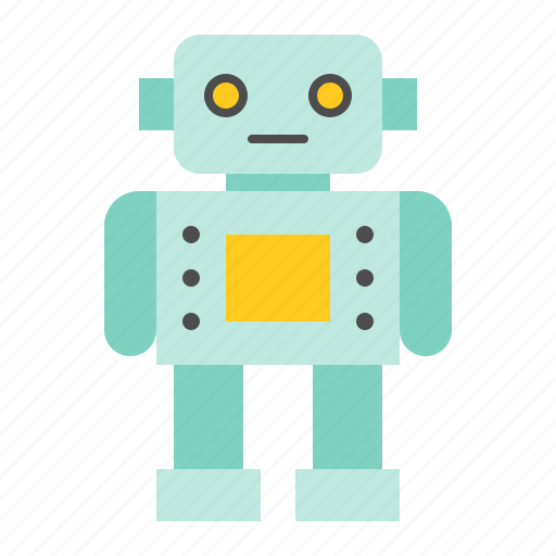 Toy, puzzle, robot, children, game, bauble, plaything icon
