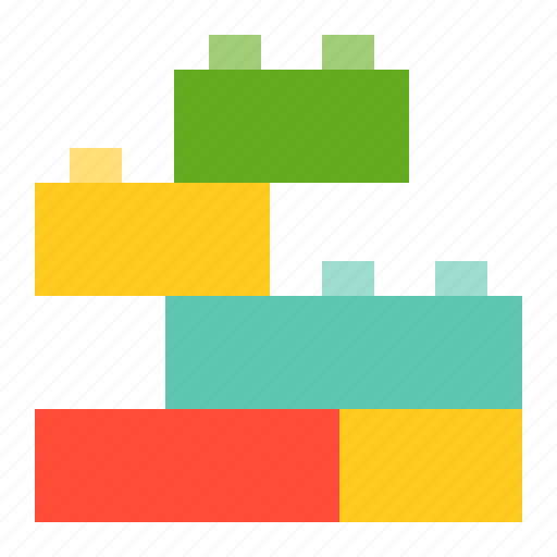 bauble, block, children, game, plaything, puzzle, toy icon