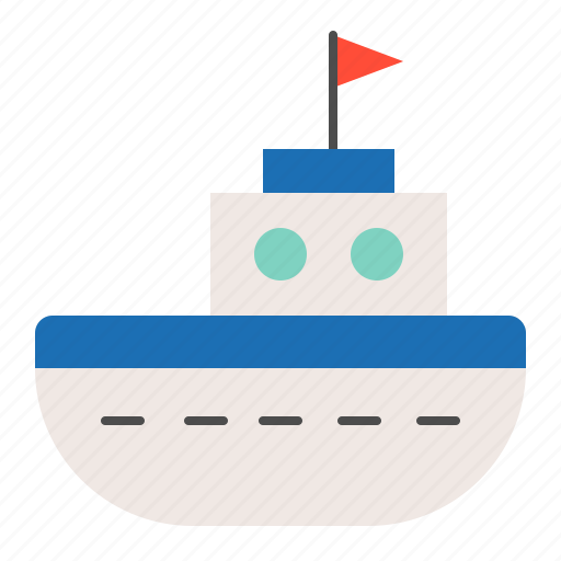 bauble, boat, children, game, plaything, puzzle, ship, toy icon