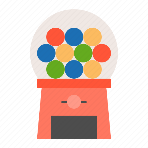 bauble, children, game, gumball machine, plaything, puzzle, toy icon