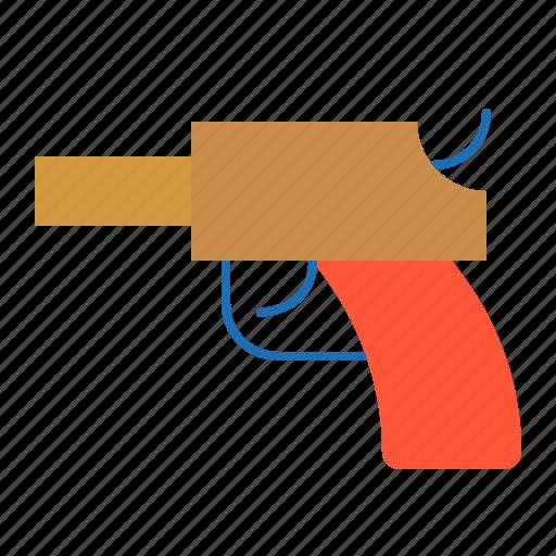 Toy, toy gun, puzzle, gun, bauble, game, children icon - Download