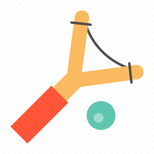bauble, children, game, plaything, puzzle, slingshot, toy icon