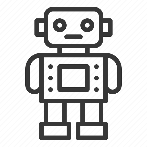 baby, bauble, game, plaything, robot, toy icon