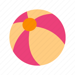 ball, beach, colorful, play, sport, tennis, yellow icon