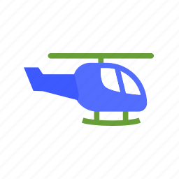 fly, green, helicopter, plastic, toy, vehicle icon