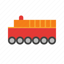 colorful, play, red, toy, train, wood, yellow icon
