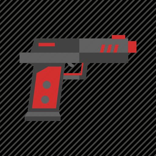 boy, gun, pistol, plastic, ray, toy, water icon