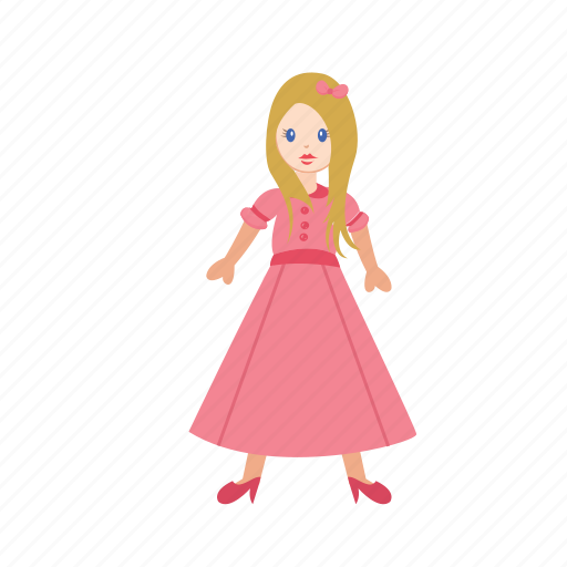 barbie, beautiful, birthday, colorful, cute, doll, toy icon