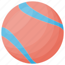 ball, baseball, kids cricket, kids sports, playtime icon