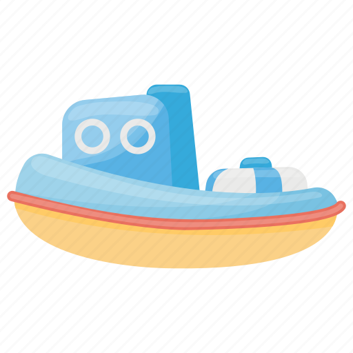 Bath toy, boat, kids boat, kids toy, toy boat icon - Download on Iconfinder